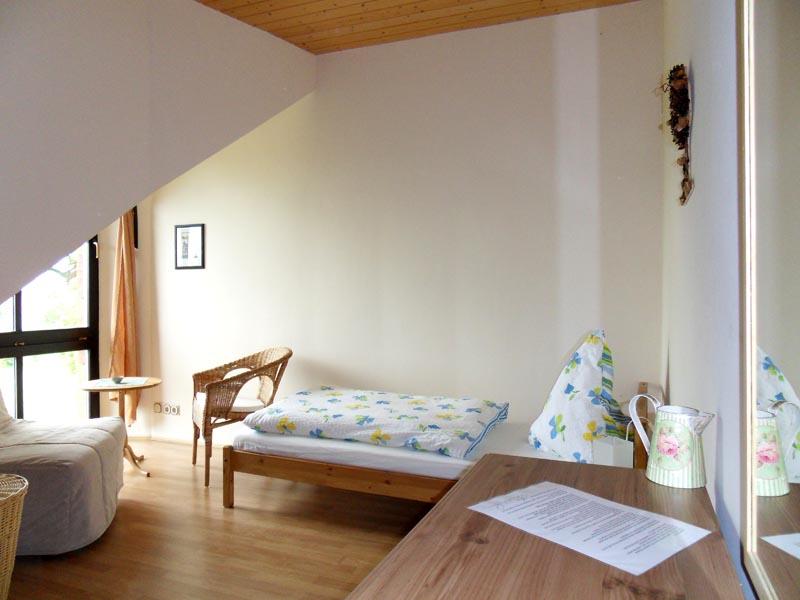 1. Etage - Einzelzimmer auch als Doppelzimmer möglich