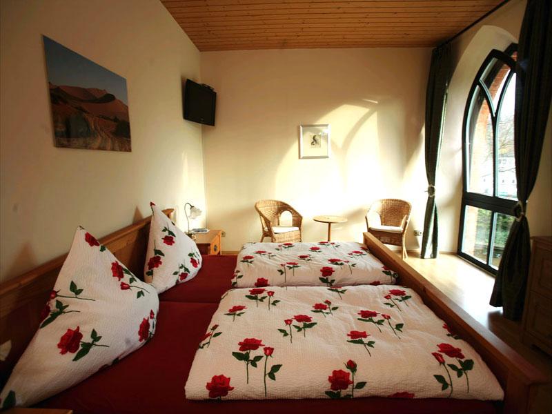 1. Etage - Doppelzimmer (Foto: Uwe Köhn)